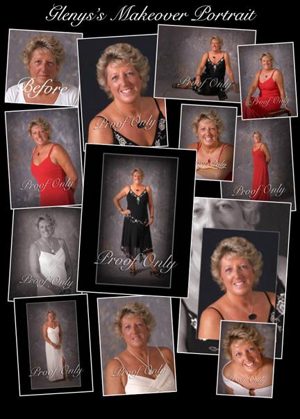 Makeover Portrait Samples