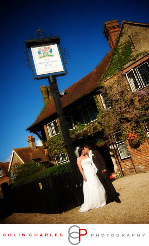 Charlotte & Jamie Wedding at Montague Arms Hotel