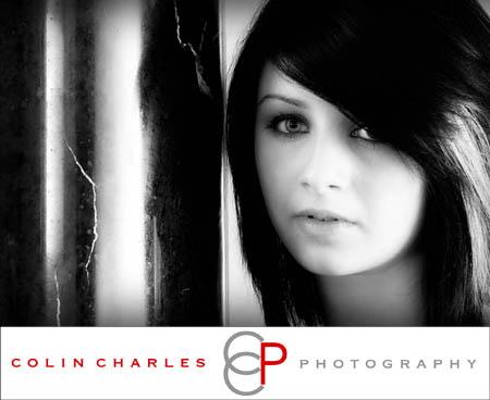 Danielle Looking GOOD in her High School Seniors Portrait