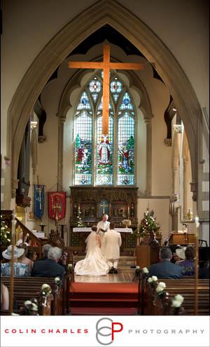 A beautiful service at St.Johns Church Rownhams