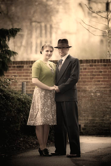 Engagement Portraits in Winchester