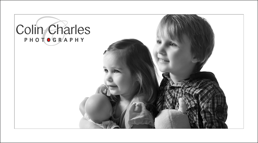 Black & White Child portraits
